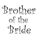 cufflink black brother bride