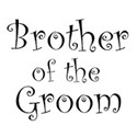cufflink black brother groom
