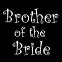 cufflink black white brother of the bride