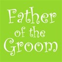 cufflink citrus green father groom