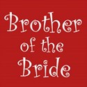 cufflink claret brother bride