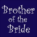 cufflink navy brother bride