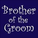 cufflink navy brother groom