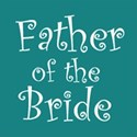 cufflink teal father bride