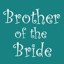 cufflink teal brother bride