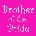 cufflink hot pink brother bride