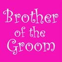 cufflink hot pink brother groom