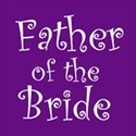 cufflink purple father bride