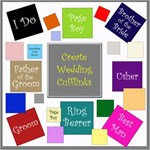 Create Wedding Cufflinks Mega Kit