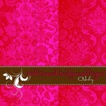 Pink Damask Background Papers