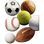 Sports Balls, Soccer Basketball Baseball, More...
