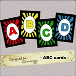 Carmensita Kit - ABC cards