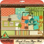 FRENCH LINENS Paper Pack