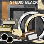 Studio Kit - Professional Silver Gold Black