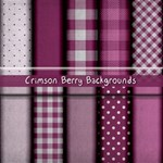 Crimson Berry Backgrounds