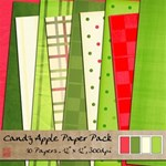 Candy Apple Paper Pack
