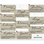 Assorted Definition Tags #2