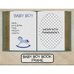 Baby Boy Book Frame