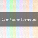 Color Feather Background
