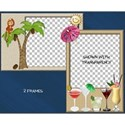 Tropical Vacation Frames #2