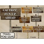 Travel Road Signs