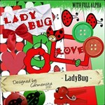 Ladybug - 20 QUICKPAGES & FULL ABC