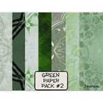 Green Paper Pack #2