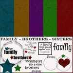 Family - Brothers - Sisters