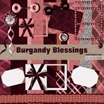 Burgandy Blessings