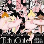 Tutu Cute Digital Scrapbook Kit