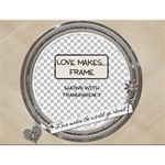 Love Makes The World Go Round Frame