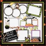 Toil And Trouble Cluster Frames