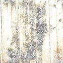 floral weathered wood paper