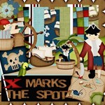 X Marks The Spot Pirate Kit