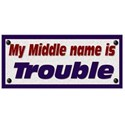 My middle name is.