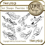 Just Stamps: Flourishes II