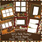 Let s Talk Turkey Premade Pages