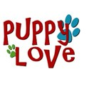 wordart puppy love