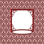 Ornament Red Damask