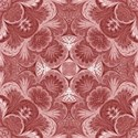 red damask paper