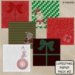 Christmas Paper Pack #3