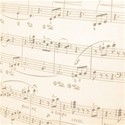 faded sheet music emb