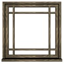 window frame brown