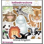 Animal Kingdom Stickers