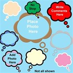 cloud speech bubbles and frames