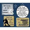Hockey Word Art