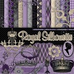 Royal Silhouette (With templates & pages!)