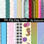 Zig ZagTrims of all colours