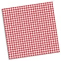turned red checkered paper