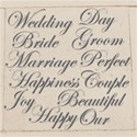 Wedding Words Silver Preview